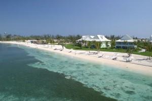 Beach front Old Bahama Bay Resort