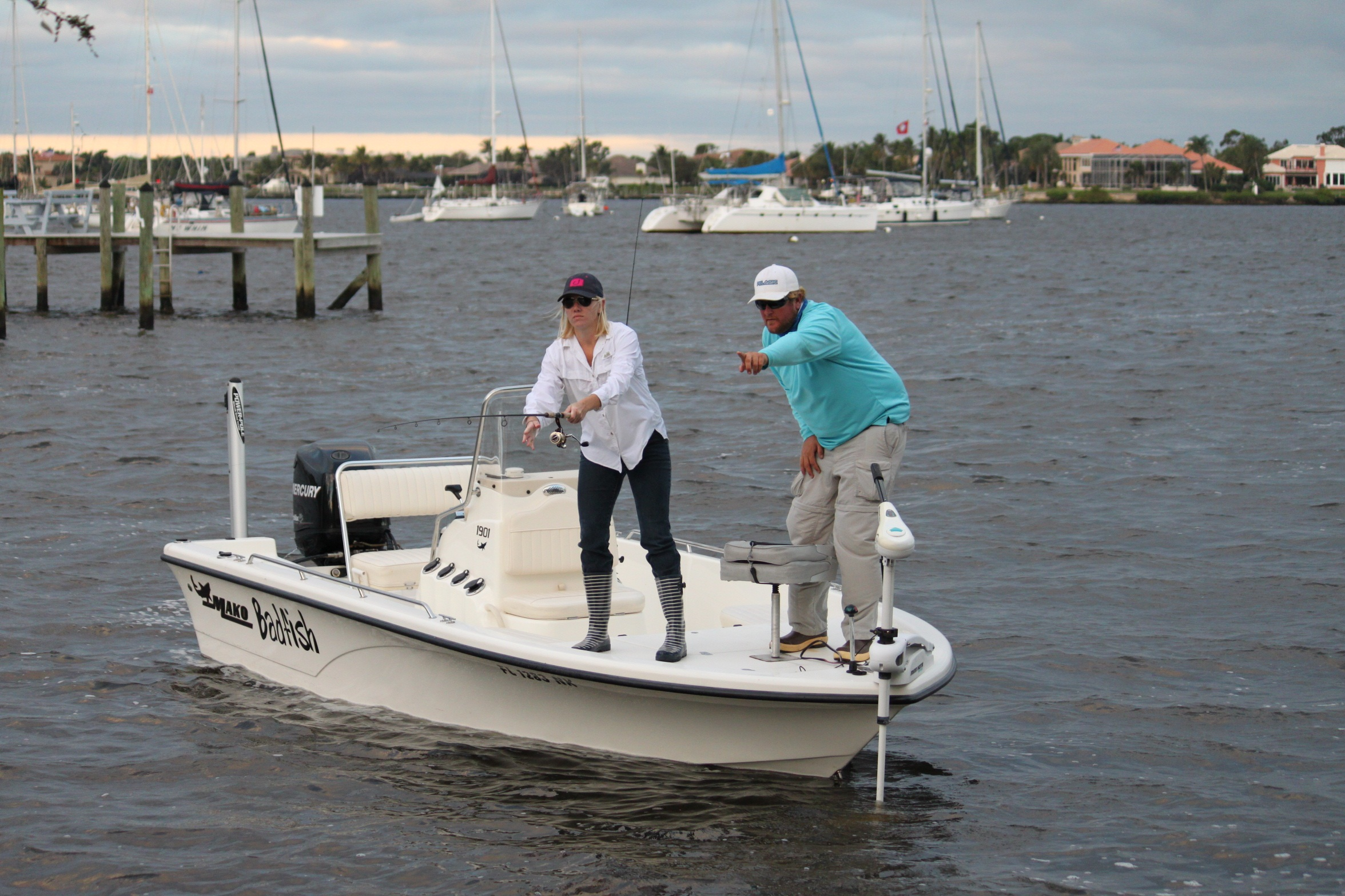 Inshore charter fishing the intracoastal between jupiter for Jupiter inlet fishing